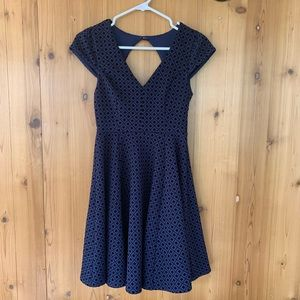 altar'd state navy blue diamond dress 🦋 size s